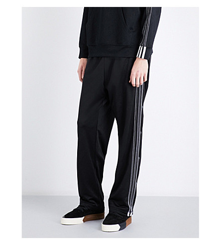 ADIDAS X ALEXANDER WANG 3-Stripes jacquard jogging bottoms (Black