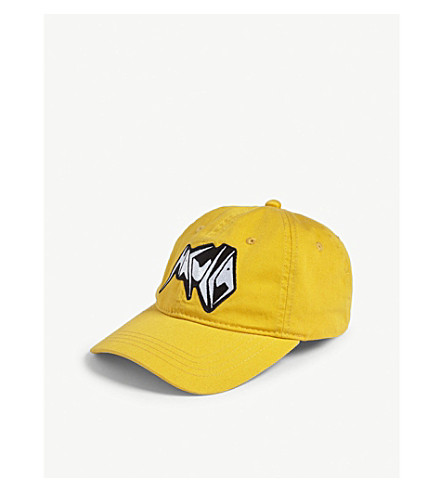 HACULLA Metal logo baseball cap (Yellow