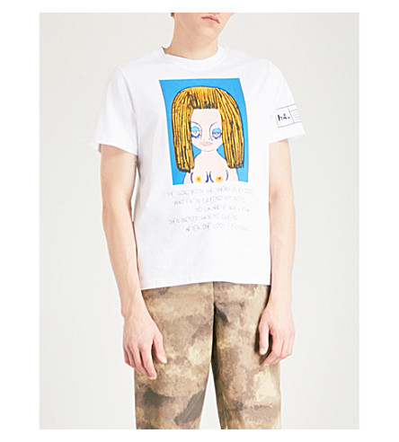 HACULLA Queen Lost Everything cotton T-shirt (White