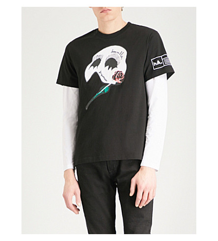 HACULLA Music Dark Night cotton T-shirt (Black