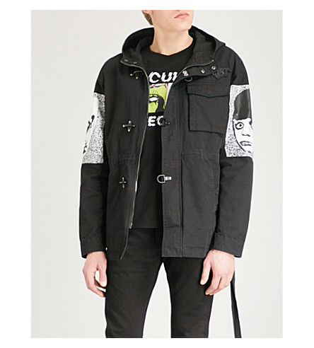 HACULLA They're Here cotton parka jacket (Black