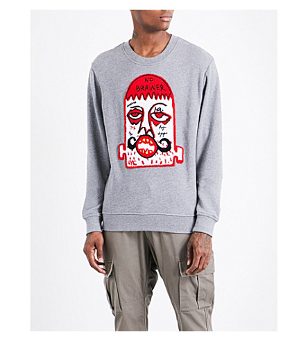 HACULLA No Brainer cotton sweatshirt (Heath+grey