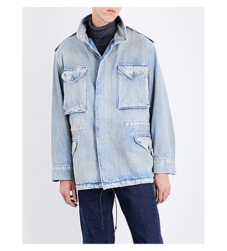 424 M-65 denim jacket (Indigo
