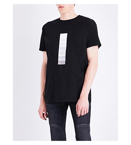 424 Pantone cotton-jersey T-shirt (Black