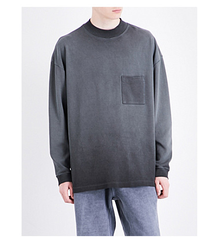 YEEZY Season 4 Oversized cotton-jersey sweatshirt (Bat