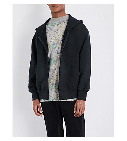 YEEZY Season 4 oversized cotton-jersey hoody (Bat