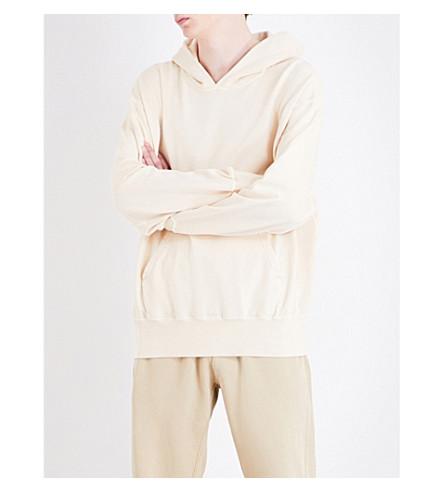 YEEZY Season 4 Oversized cotton-jersey hoody (Light+sand