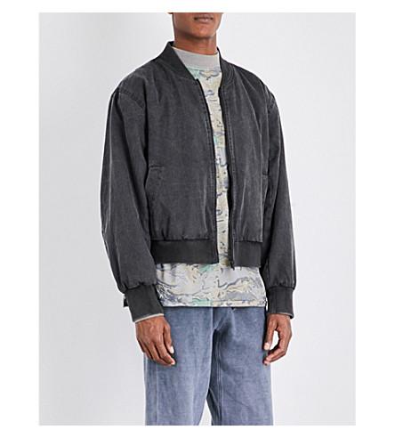 YEEZY Season 4 oversized cotton bomber jacket (Bat