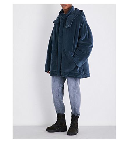 YEEZY Season 4 oversized cotton-blend puffer jacket (Bat