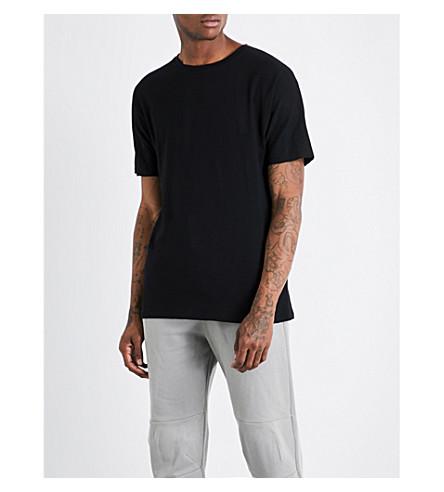 ADYN Mineral cotton-jersey T-shirt (Black