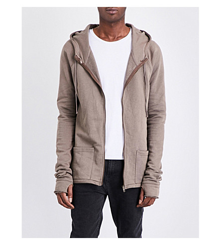 DEADWOOD Cotton hoody (Nude