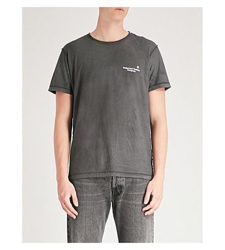 jersey Antrax cotton Logo T shirt TRADING COMPANY HOLLYWOOD print wq7X8IO