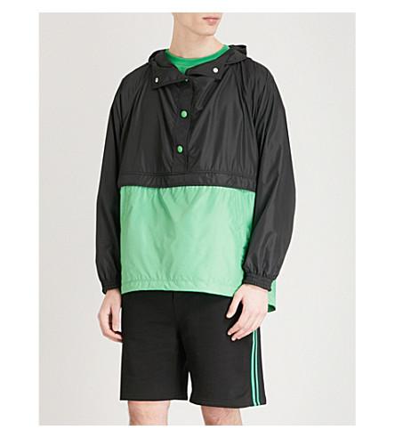 GCDS Two-tone shell jacket (Green