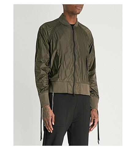 KTZ Cordey shell bomber jacket (Olive