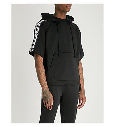 KTZ Logo ribbon neoprene sweatshirt (Black