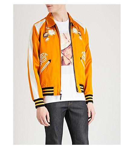 COACH 1941 Coach X Keith Haring Souvenir satin jacket (Cream