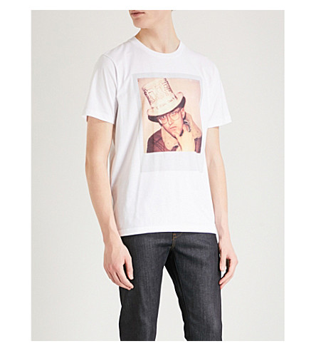COACH 1941 Coach X Keith Haring Polaroid cotton T-shirt (White