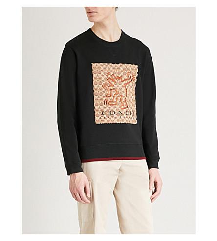 COACH 1941 Coach X Keith Haring cotton sweatshirt (Black