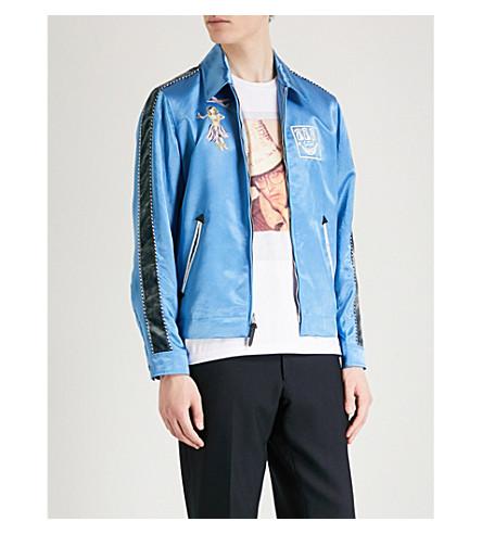 COACH 1941 Coach X Keith Haring Souvenir satin jacket (Blue+grey