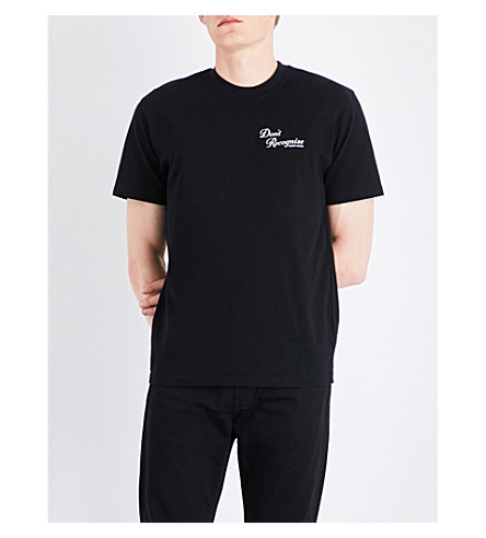 RESORT CORPS Don't Recognise cotton T-shirt (Black