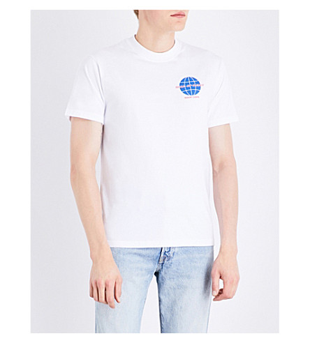 RESORT CORPS Now Or Never cotton T-shirt (White