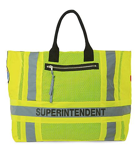 HERON PRESTON DSNY Superintendent nylon tote (Yellow
