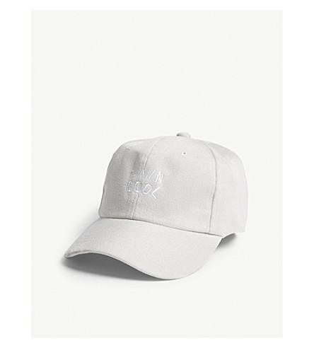 LIVINCOOL Livin Cool suedette strapback cap (Grey