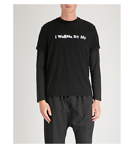 MIDNIGHT STUDIOS Sex Pistols I Wanna Be Me cotton-jersey T-shirt