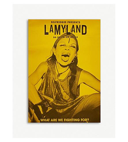 LAMYLAND Michèle-print poster (Multi