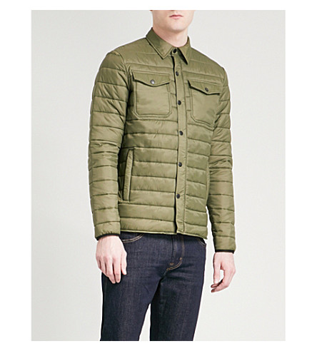 SCHOTT Niels quilted jacket (Khaki