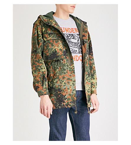 THUNDERS Birmingham camouflage-print parka jacket (Camo