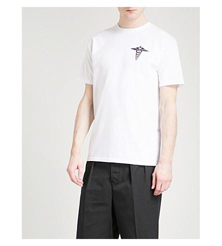 DRXI Dr Romanelli x Interscope Caduceus cotton-jersey T-shirt (White