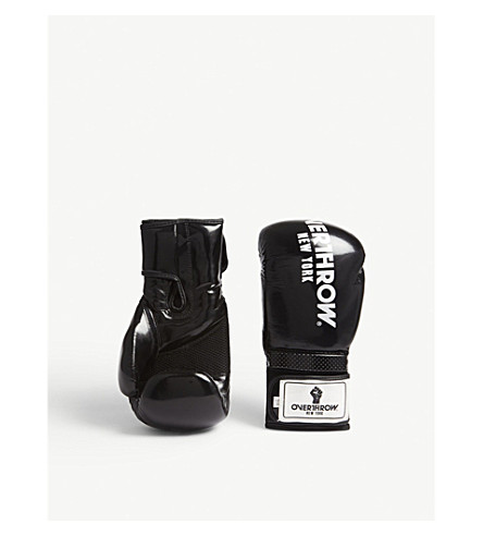 OVERTHROW Lamyland Pro Style boxing gloves 16oz (Black