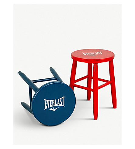 EVERLAST Lamyland boxing ring corner stools set of two (Blue+red
