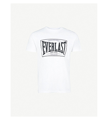 EVERLAST Lamyland logo-print cotton-jersey T-shirt (White