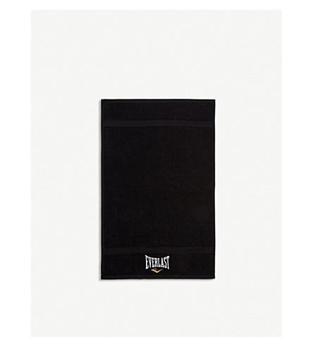EVERLAST Lamyland Everlast logo terry cotton towel 63x25cm (Black