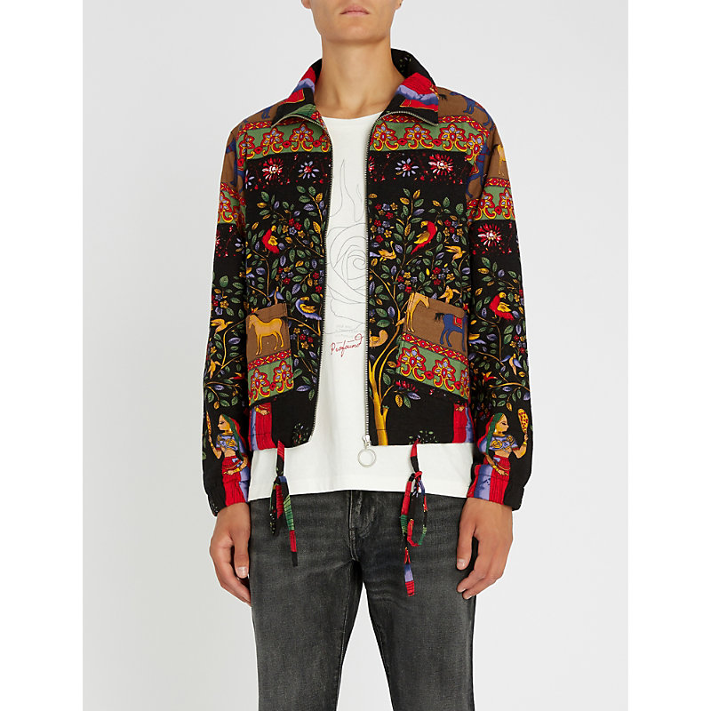 PROFOUND AESTHETIC Flower Girl cotton jacket