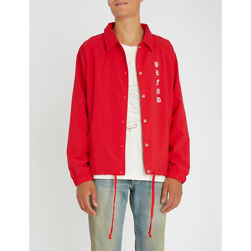 PROFOUND AESTHETIC Rose Prayer shell jacket