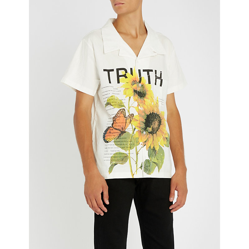 PROFOUND AESTHETIC Truth Beauty regular-fit stretch-cotton shirt