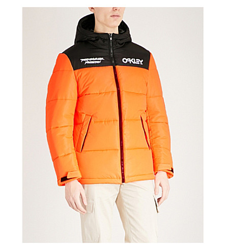 OAKLEY Thermonuclear shell puffer jacket (Neon+orange