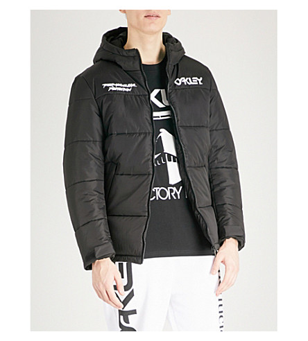 OAKLEY Thermonuclear padded shell puffer jacket (Blackout
