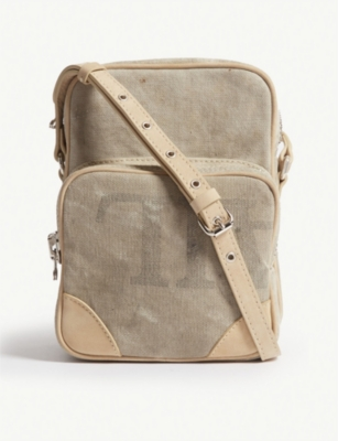 READYMADE Vintage Canvas Small Shoulder Bag in White