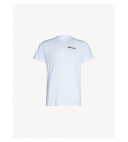 STUDIO ALCH Logo-print cotton-jersey T-shirt (White