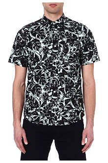 CARHARTT Marlow lotus-print cotton shirt