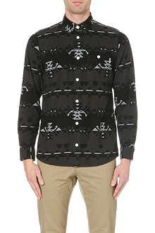 CARHARTT Wilkins aztec flannel shirt