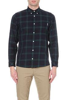 CARHARTT Button-down collar checked shirt
