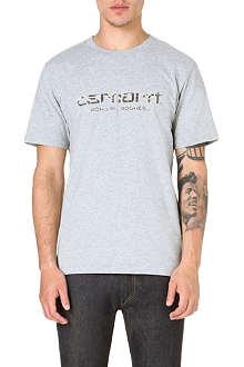 CARHARTT Whip script camo t-shirt