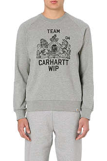 CARHARTT Team-print cotton-jersey sweatshirt