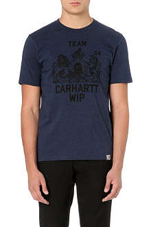 CARHARTT Team-print cotton-jersey t-shirt