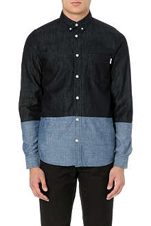 CARHARTT Morton contrast denim shirt